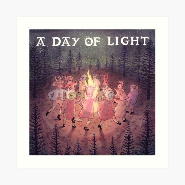 "MEAR: Official ""A Day of Light"" EP album artwork Art Print"