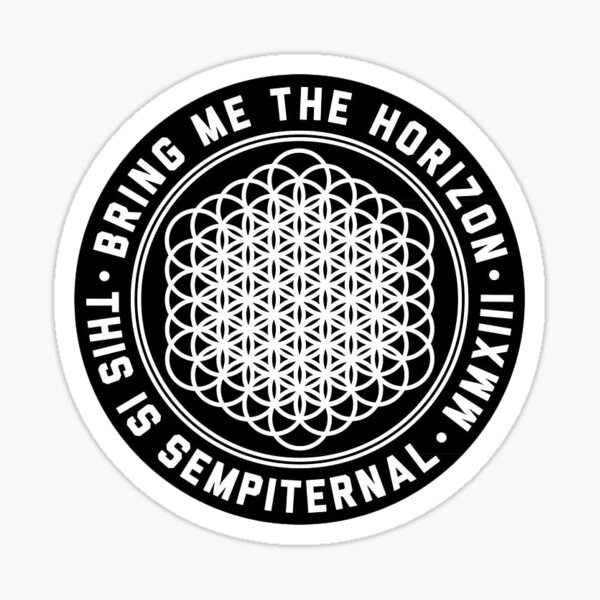 tráeme el logo del horizonte Pegatina