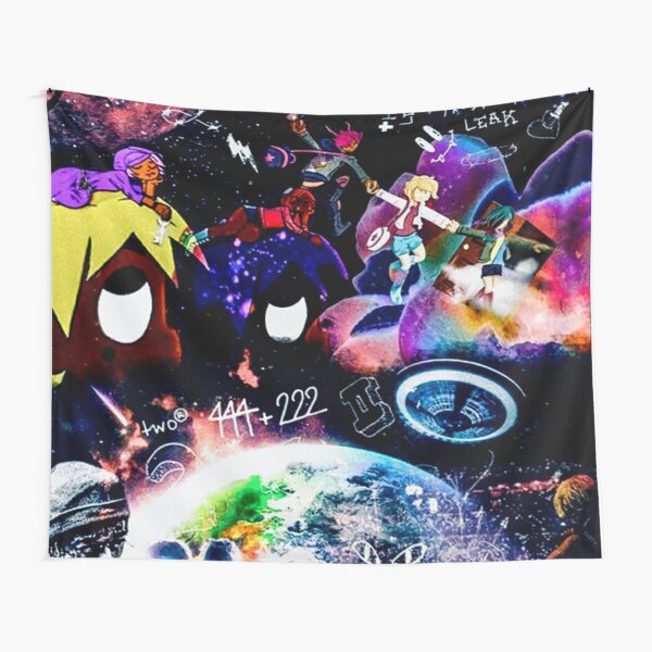 Custom all Album Uzi Vert Tapestry