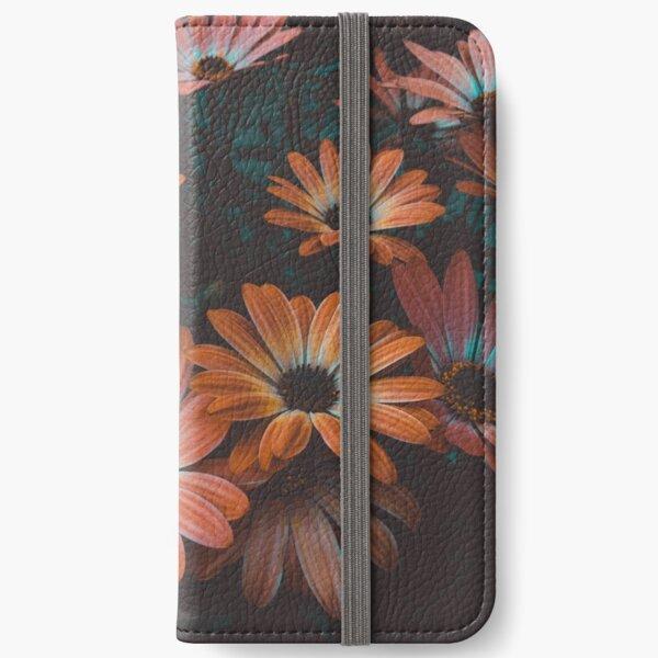 beautiful fllowers iPhone Wallet