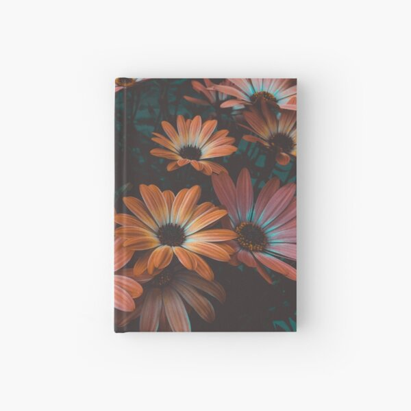 beautiful fllowers Hardcover Journal