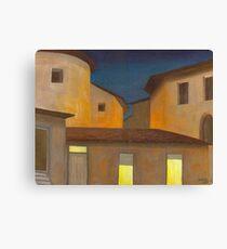 Montecastello nights Canvas Print