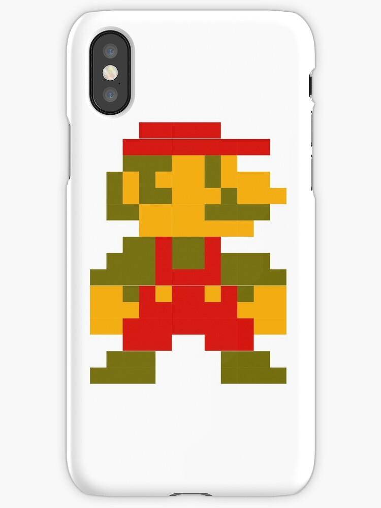 8-bit Mario by aylasplee