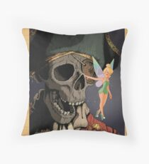 Tink and Willy Duvet Throw Pillow