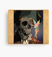 Tink and Willy Duvet Canvas Print