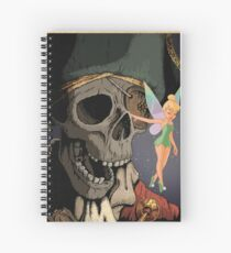 Tink and Willy Duvet Spiral Notebook