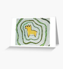 Chewed Up Greeting Card