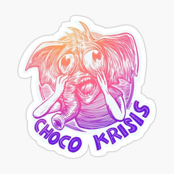 Choco Krisis Sticker