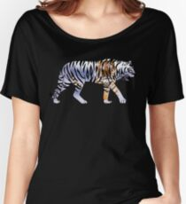 Tiger 2 Black Women's Relaxed Fit T-Shirt
