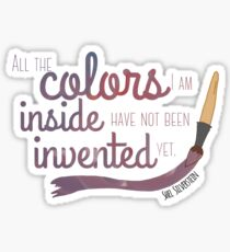 All the Colors I am Inside Sticker