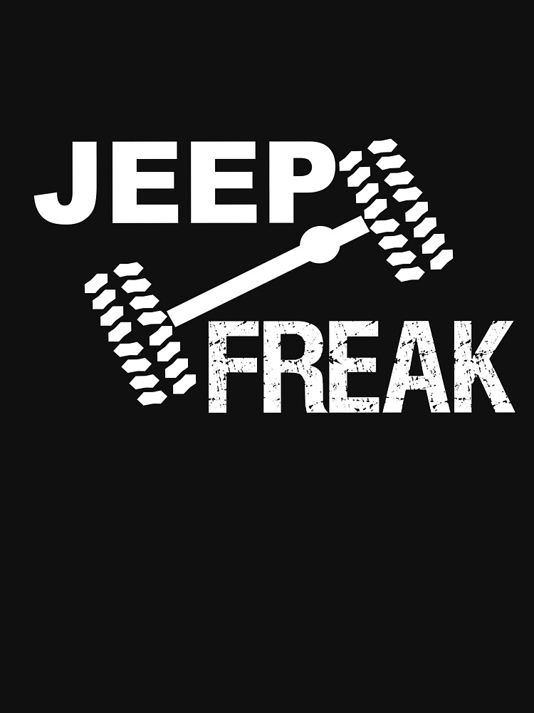 Jeep Freak TShirts  Hoodies By Umeimages Redbubble - Jeep t shirt design