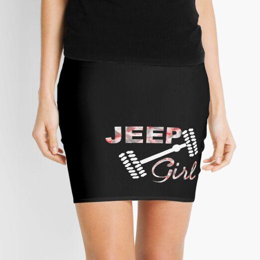 Jeep Girl Camo Mini Skirt