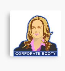 Corporate Booty Canvas Print