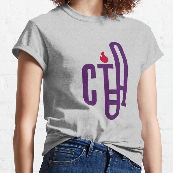 Classical Trombone Small Color Logo Classic T-Shirt