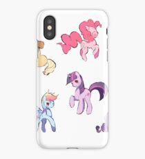 My Little Pony Sticker Batch iPhone Case/Skin