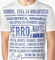 La Biblioteca Rap - Community Graphic T-Shirt