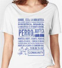 La Biblioteca Rap - Community Women's Relaxed Fit T-Shirt