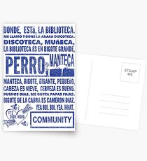 La Biblioteca Rap - Community Postcards