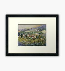 Sunflowers - Tuscany Framed Print
