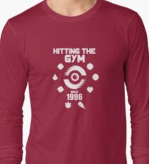 Hitting The Pokemon Gym Long Sleeve T-Shirt