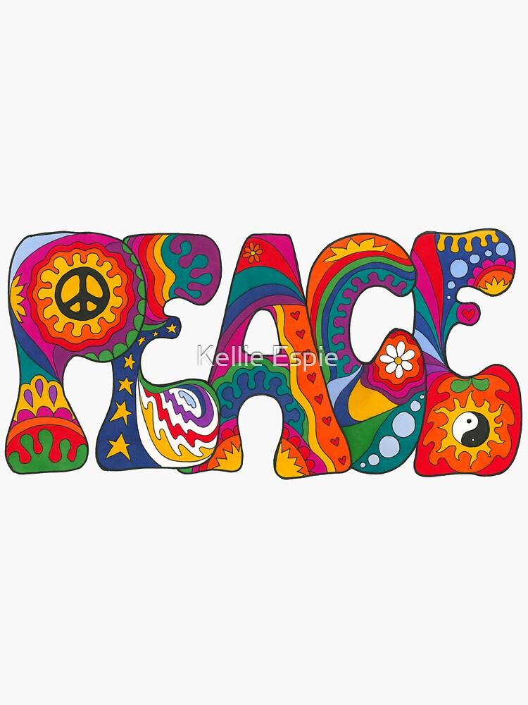 Psychedelic Peace by kelkel66