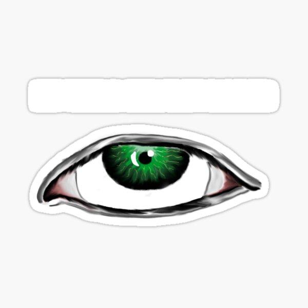 3rd Eye Roll Sticker
