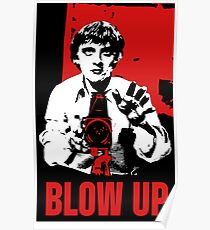 Blow Up - Movie Poster Poster