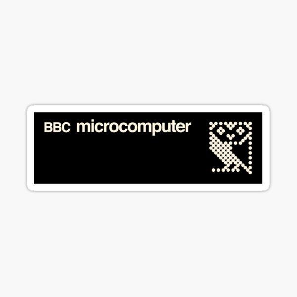 beebthings BBC Micro logo 1 Sticker