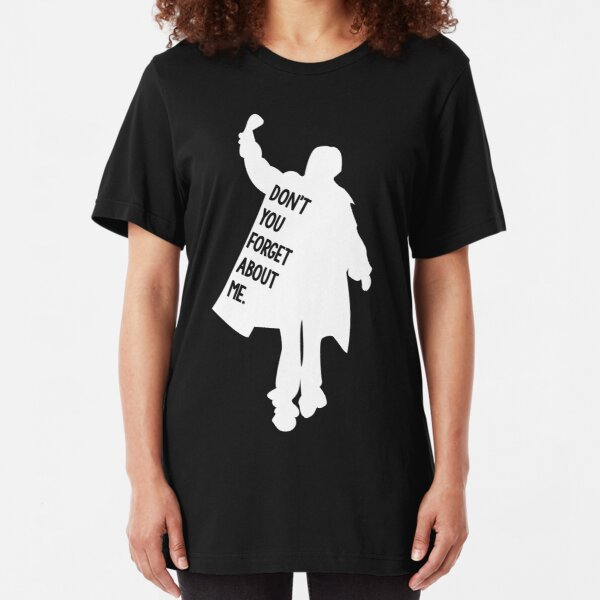 The Breakfast Club Judd Nelson Sihlouette Adult T Shirt Classic Movie