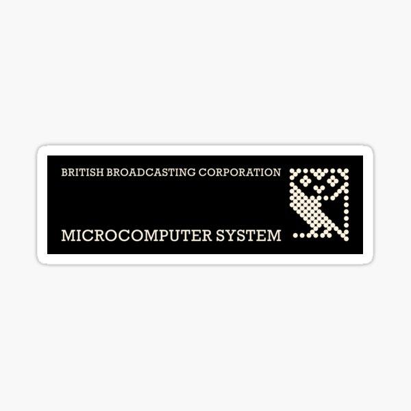 BBC Micro logo 2 Sticker