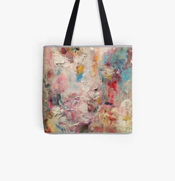 style shot of paper flowers  All Over Print Tote Bag