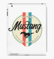Mustang retro iPad Case/Skin