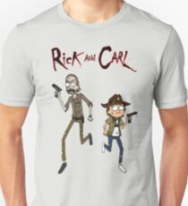 Rick and Carl Unisex T-Shirt