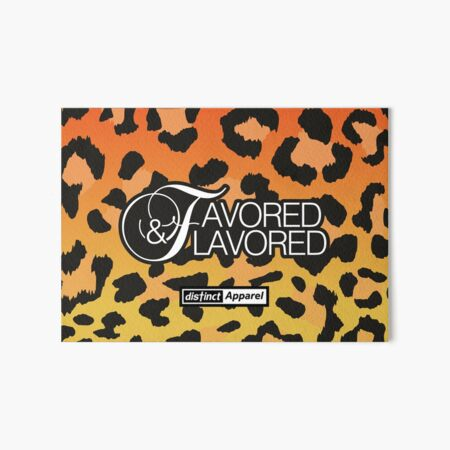 Faith Inspired: Favored & Flavored Art Board Print