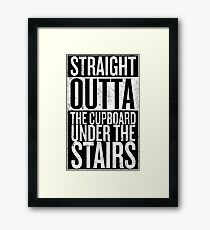 Straight out of the Cupboard Framed Print