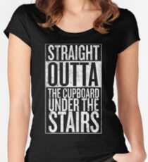 Straight out of the Cupboard Women's Fitted Scoop T-Shirt