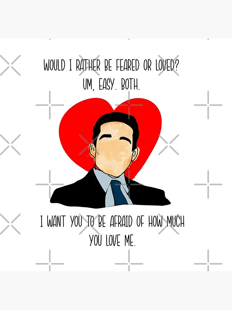 The Office Valentine Michael.  by creativepod