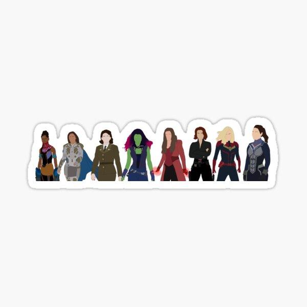heroines Sticker