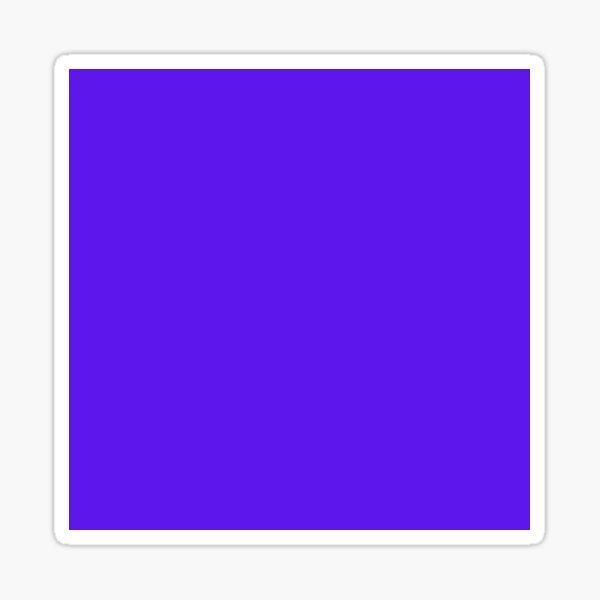 Simple Purple Sticker