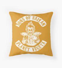 SONS OF SAIYAN Throw Pillow
