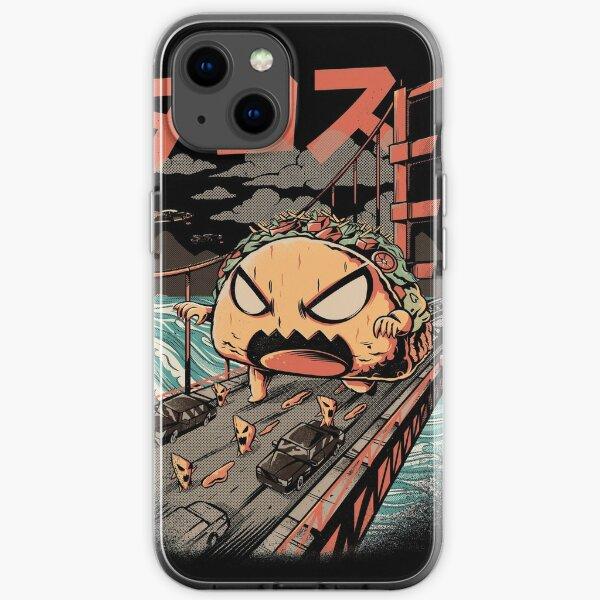 The Black Takaiju iPhone Soft Case