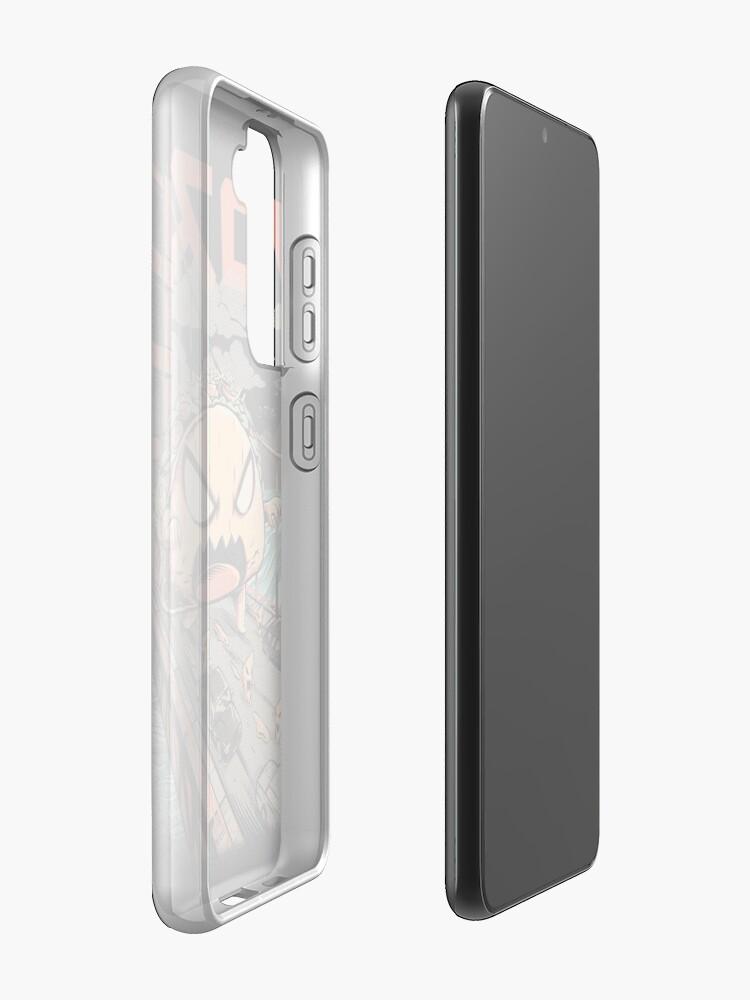 Alternate view of The Black Takaiju Samsung Galaxy Phone Case