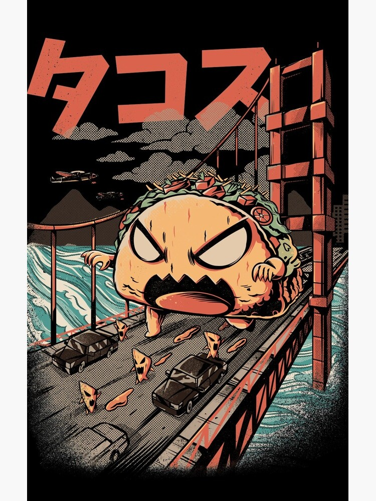 The Black Takaiju by ilustrata