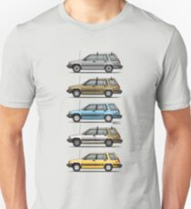 Stack Of Mark's Toyota Tercel Al25 Wagons Unisex T-Shirt