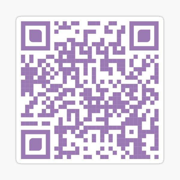 Busta Rhymes QR Code Sticker