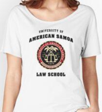 University of American Samoa Law School  Women's Relaxed Fit T-Shirt