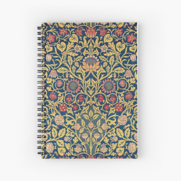 Violets and Columbine Spiral Notebook