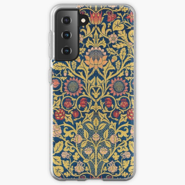 Violets and Columbine Samsung Galaxy Soft Case