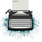 «Typewriter - Timeless» de SarGraphics