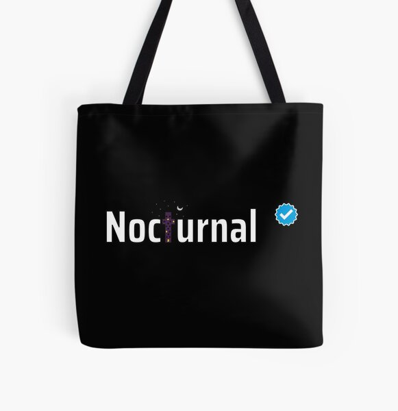 Verified Nocturnal All Over Print Tote Bag